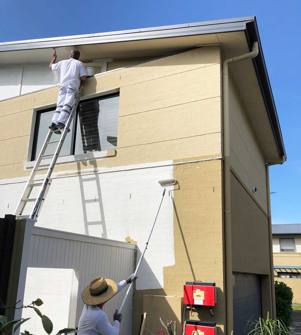 Residential Exterior Painting - House Painting Sydney by Sydney Painters