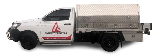 Sydney Painters Vehicle - Sydney based Painting Services